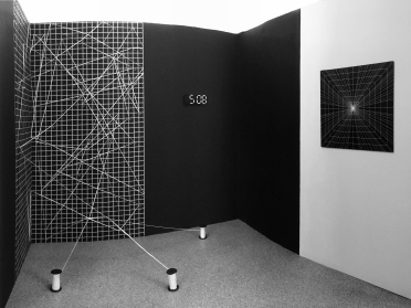 Juin 2017, Installation view, W3 = 0 + CH4NC3